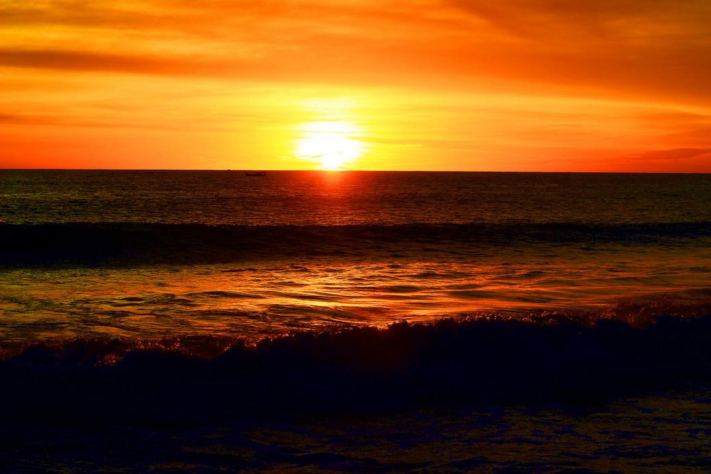 sunset pantai glagah yogyakarta (2)