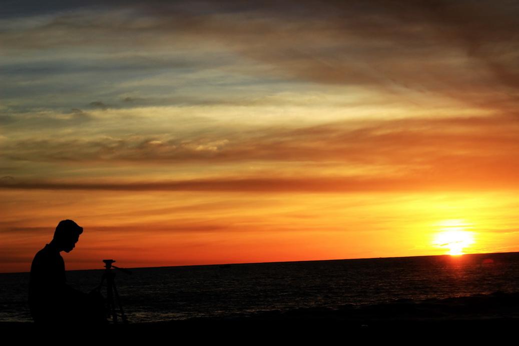 sunset pantai glagah yogyakarta (4)
