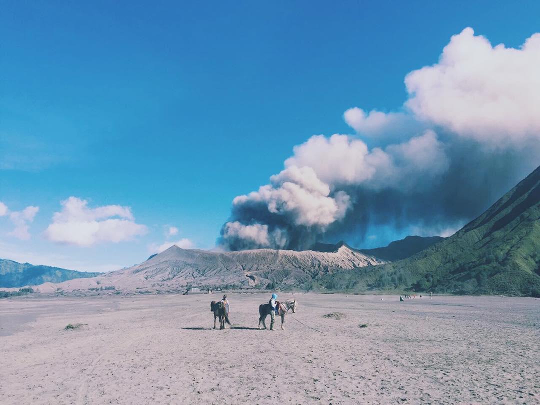 Gunung Bromo Jawa Timur Sunrise Terbaik Di Dunia Ini Ada