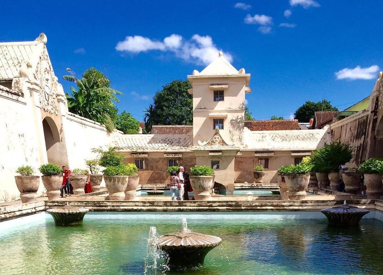 Taman Sari Jogja Menyibak Romantisme Kerajaan Mataram Masa Lalu
