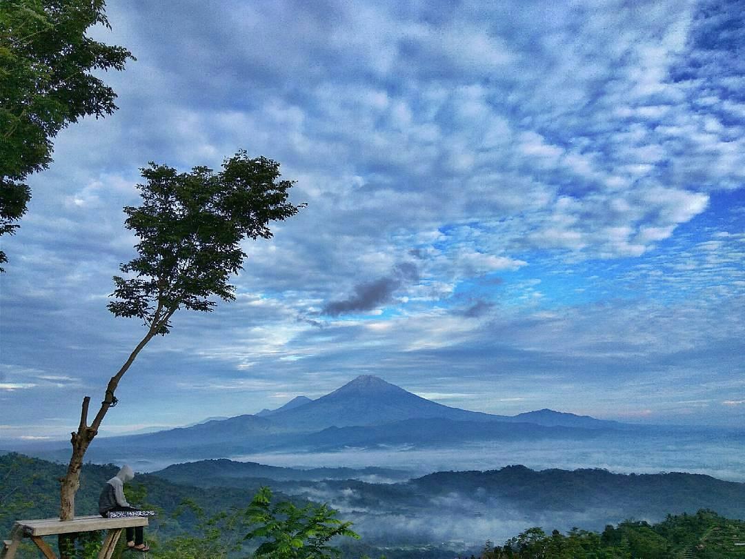 Punthuk Mongkrong : Nikmati Pesona Perbukitan Magelang Jawa Tengah