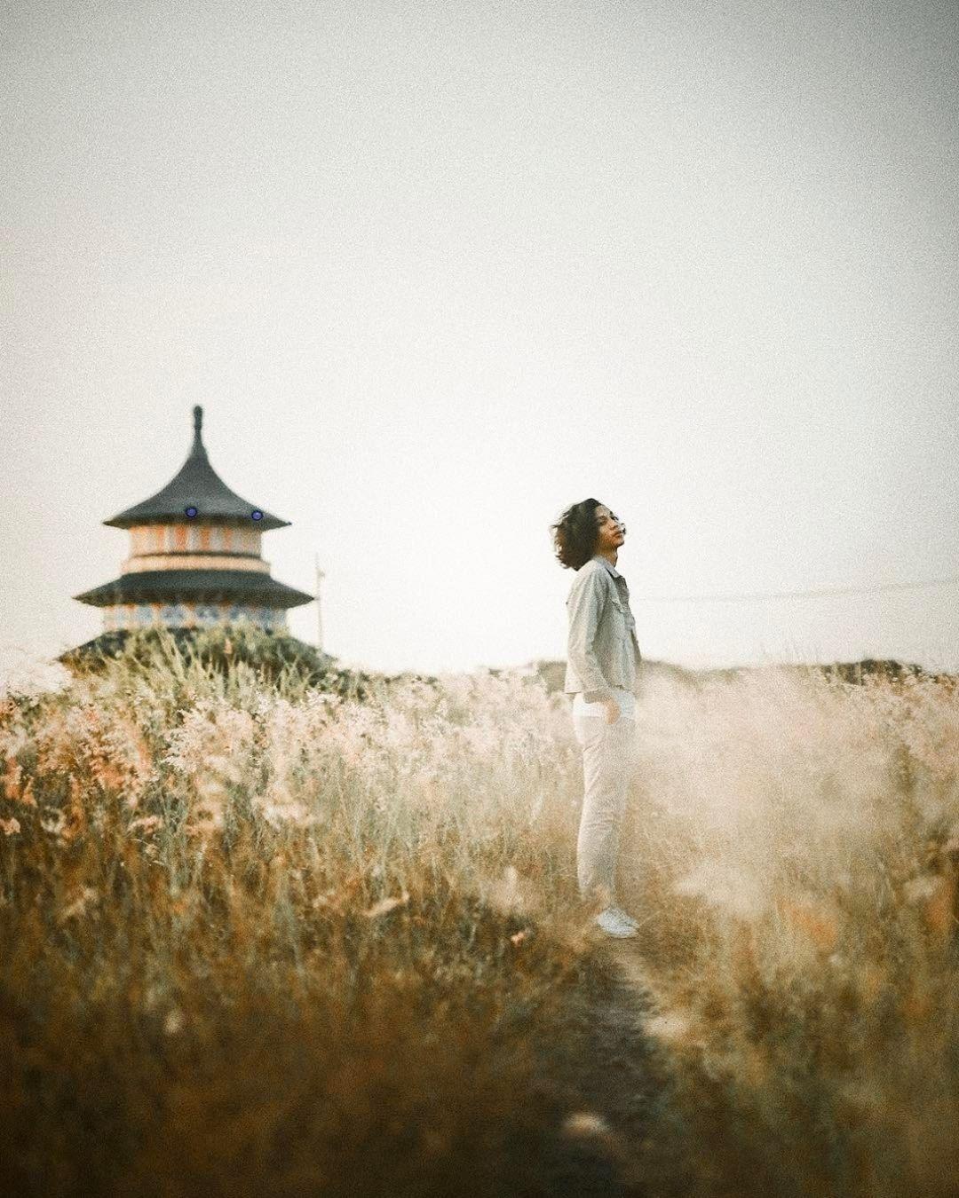 Wisata Eksotis Di Pagoda Tian Ti Surabaya Jawa Timur